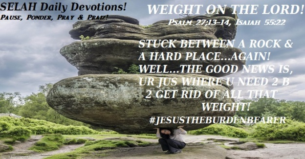 weight on the LORD 3