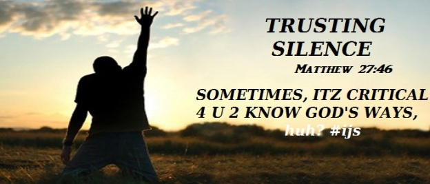 TRUSTING SILENCE