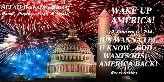 WAKE UP AMERICA!