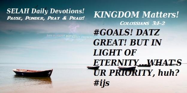 KINGDOM MATTERS
