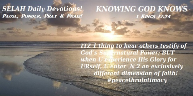 KNOWING GOD KNOWS
