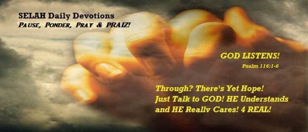 GOD LISTENS!