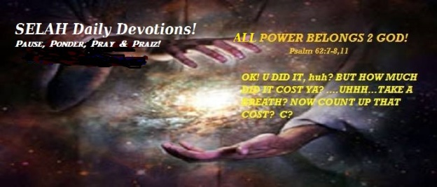 ALL POWER BELONGS 2 GOD