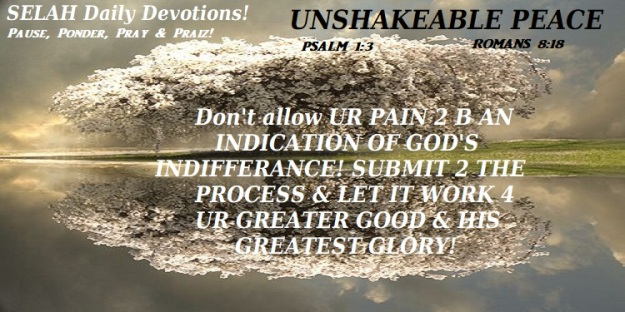 UNSHAKEABLE PEACE 2