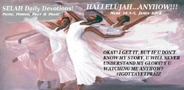 HALLELUJAH ANYHOW
