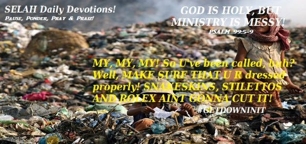 GOD IS HOLY BUT MINISTRY IS MESSY