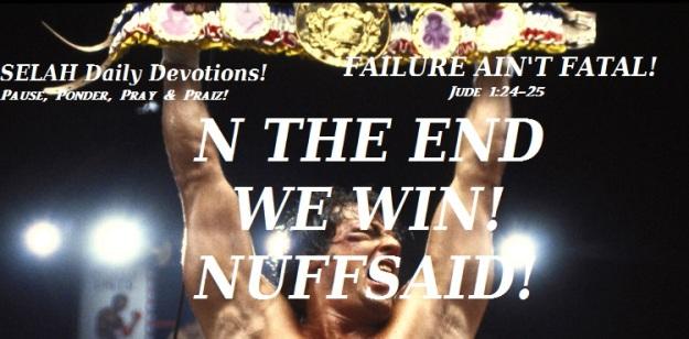 FAILURE AIN'T FATAL