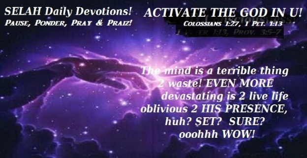 ACTIVATE THE GOD IN U
